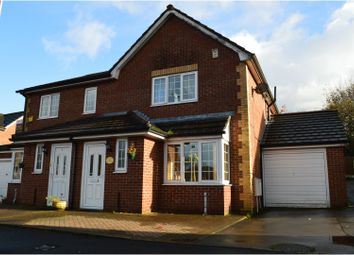 Thumbnail 3 bed semi-detached house for sale in Aspinall Gardens, Manchester