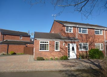 Thumbnail 3 bed semi-detached house for sale in Lancaster Close, Wellesbourne, Warwick