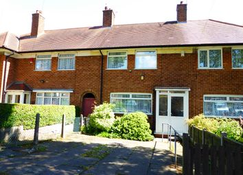 Thumbnail 3 bed terraced house for sale in Quarry Road, Birmingham