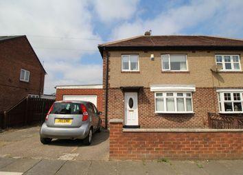 Thumbnail Semi-detached house for sale in Grasmere Avenue, Jarrow
