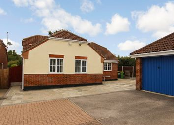 Thumbnail 3 bed detached bungalow for sale in Polstead Close, Rayleigh