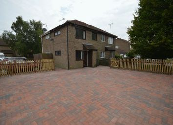 Thumbnail 1 bed end terrace house to rent in Conway Close, Houghton Regis, Dunstable