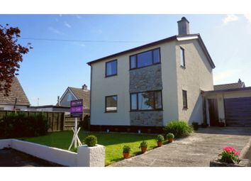Thumbnail 3 bed detached house for sale in Bryn Estate, Llanfaethlu