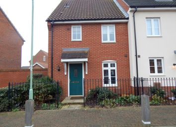 Thumbnail 3 bed semi-detached house to rent in Turing Court, Grange Farm, Kesgrave