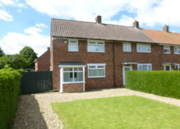 Thumbnail 2 bed end terrace house for sale in Caledon Close, Hull