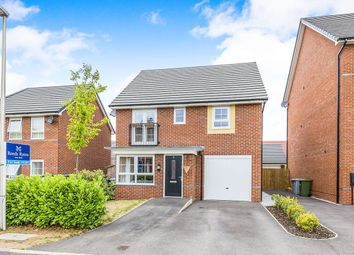 Thumbnail 4 bed detached house for sale in Peter Fletcher Crescent, Elworth, Sandbach