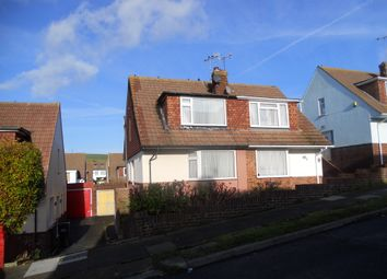 Thumbnail 2 bed semi-detached house to rent in Graham Crescent, Portslade, Brighton