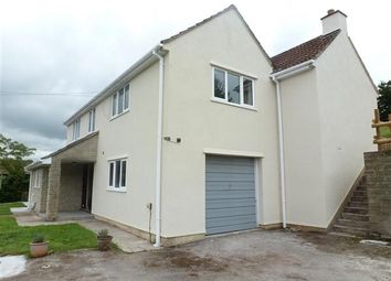 Thumbnail 5 bed detached house to rent in Moor View Farm, Brinscombe Lane, Axbridge
