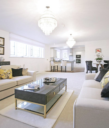 Thumbnail 3 bedroom flat for sale in Slaugham Place, Slaugham