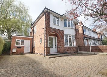 Thumbnail 3 bed detached house for sale in Trowell Avenue, Wollaton, Nottingham