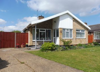 Thumbnail 2 bedroom detached bungalow for sale in Breydon Way, Lowestoft
