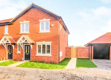 Thumbnail 3 bedroom semi-detached house for sale in Hicfield Road, Beck Row, Bury St. Edmunds