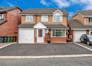 Thumbnail 4 bed detached house for sale in Ganton Road, Bloxwich/Turnberry, Walsall