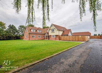 Thumbnail 5 bed detached house for sale in Great Tey Road, Colchester, Essex