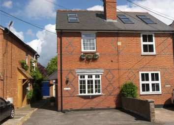 Thumbnail 3 bed semi-detached house to rent in Rose Cottages, Lodge Road, Whistley Green, Reading