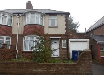 Thumbnail 3 bed semi-detached house to rent in Fenham Hall Drive, Newcastle Upon Tyne