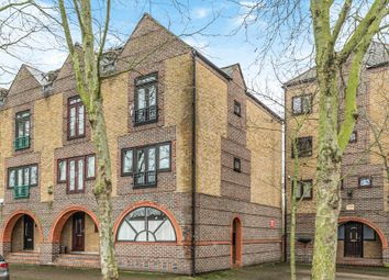 Thumbnail 4 bed end terrace house for sale in Greenland Quay, London