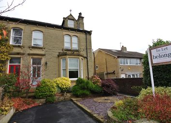 Thumbnail 4 bedroom semi-detached house to rent in Grasmere Road, Gledholt, Huddersfield