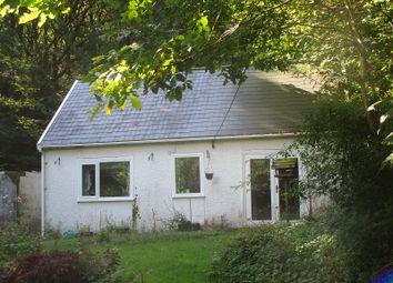Thumbnail 2 bed detached bungalow for sale in Rhiwfawr Road, Lower Cwmtwrch, Swansea.