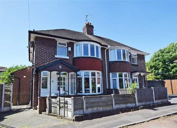 Thumbnail 3 bed semi-detached house for sale in Corda Avenue, Northenden, Manchester