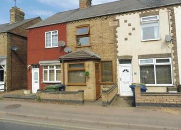Thumbnail 2 bed terraced house to rent in Peterborough Road, Whittlesey