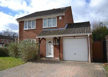 Thumbnail 5 bed detached house for sale in Woodside Gardens, Chineham, Basingstoke