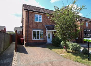 Thumbnail 2 bed semi-detached house for sale in Nursery Close, Barton-Upon-Humber, North Lincolnshire