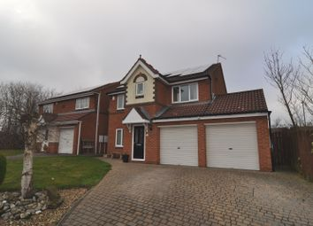 Thumbnail 4 bed detached house for sale in Cragside Close, Spennymoor