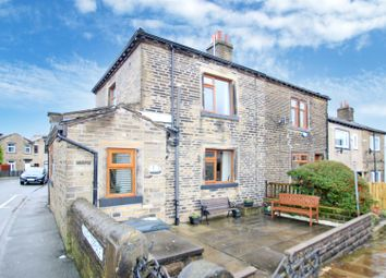 Thumbnail 2 bed end terrace house for sale in South Terrace, Northowram, Halifax