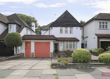 Thumbnail 4 bed detached house for sale in Stone Hall Road, Winchmore Hill, London