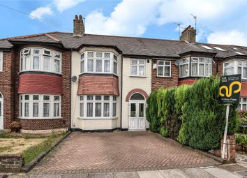 Thumbnail 3 bed terraced house for sale in The Larches, Palmers Green, London