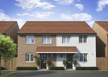 "Thumbnail 3 bedroom semi-detached house for sale in ""Barwick"" at Dymchurch Road, Hythe"