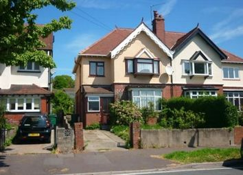 Thumbnail 3 bed semi-detached house to rent in Linden Road, Newport
