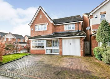 Thumbnail 4 bed detached house for sale in Lavender Close, Walsall, West Midlands, .