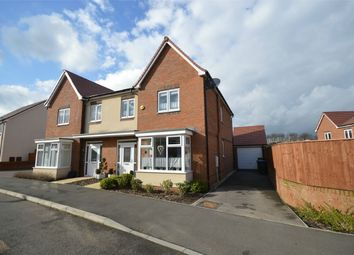 Thumbnail 4 bed semi-detached house for sale in Edison Drive, Technology Drive, Rugby, Warwickshire