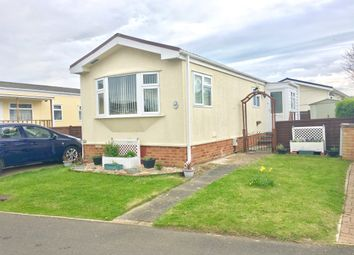 Thumbnail 1 bed mobile/park home for sale in Park Road, Briar Bank Park, Bedford
