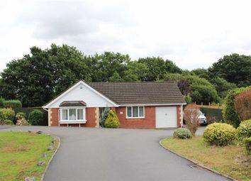 Thumbnail 3 bedroom detached bungalow for sale in Oakwood Drive, Gowerton, Swansea