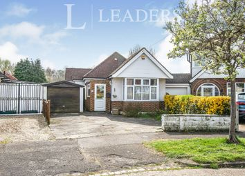 Thumbnail 2 bed bungalow to rent in West Mead, Ewell, Epsom