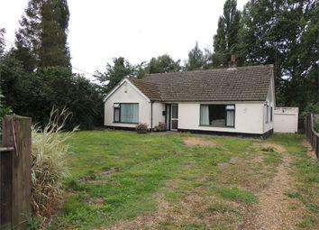 Thumbnail 3 bed detached bungalow for sale in Fen Road, Watlington, King's Lynn