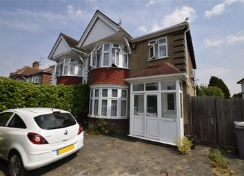 Thumbnail 5 bed semi-detached house to rent in Rushout Avenue, Kenton, London