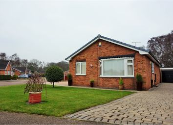 Thumbnail 3 bed detached bungalow for sale in Greenfield Close, Barnby Dun, Doncaster