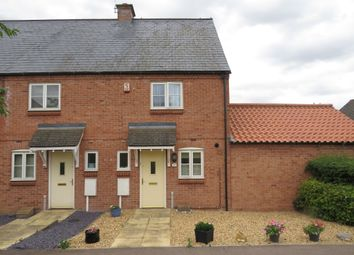 Thumbnail 2 bed end terrace house for sale in Hawthorn Avenue, Mawsley, Kettering