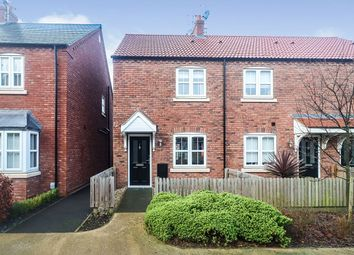 Thumbnail 2 bedroom end terrace house for sale in Northgate, Kingswood, Hull, East Yorkshire