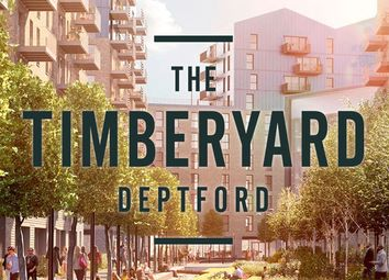 Thumbnail 1 bed flat for sale in Cedarwood View, Timberyard, Grove Street, London