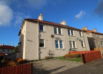Thumbnail 2 bed flat for sale in Macindoe Crescent, Kirkcaldy, Fife