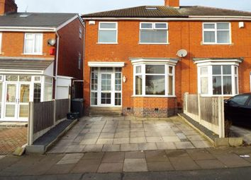 Thumbnail 4 bed semi-detached house for sale in Gwendolen Road, Evington, Leicester, Leicestershire