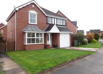 Thumbnail 4 bed detached house to rent in Greenside Park, New Crofton, Wakefield