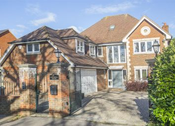 Thumbnail 6 bed detached house to rent in Old Chestnut Avenue, Claremont Park, Esher