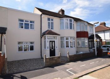 Thumbnail 4 bedroom terraced house for sale in Edward Road, Chadwell Heath, Romford