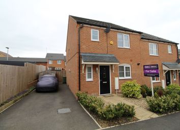 Thumbnail 3 bed semi-detached house for sale in King Close, Newton Leys